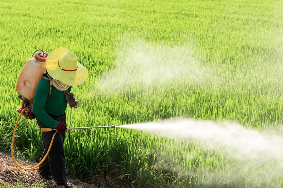 combate à poluição por agrotóxicos